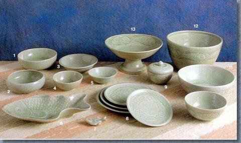 Celadon Tableware