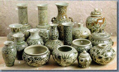 Celadon Classical Vase