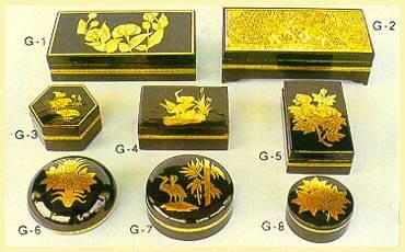 Lacquerware - Boxes