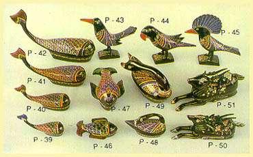Lacquerware - Boxes (Whale, Tapien, Swan, Deer)