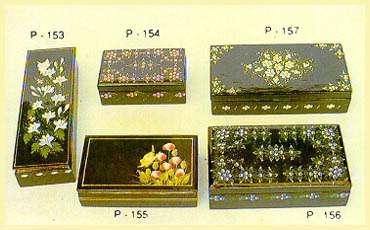 Lacquerware - Rectangular Boxes