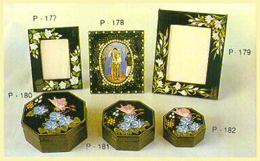 Lacquerware - Picture Frames, Hexagonal Boxes