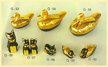 Lacquerware - Boxes (Cat, Duck)