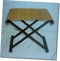 Bamboo Stool with Reed