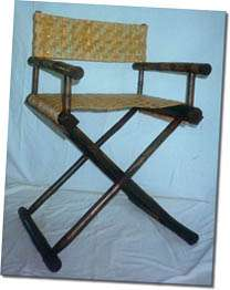 Bamboo Polo Chair with Reed
