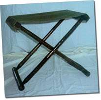 Bamboo Stool with Canvas