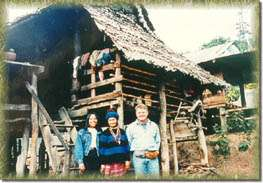 Karen village at Sob-Had