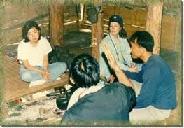 Inside the Farm House